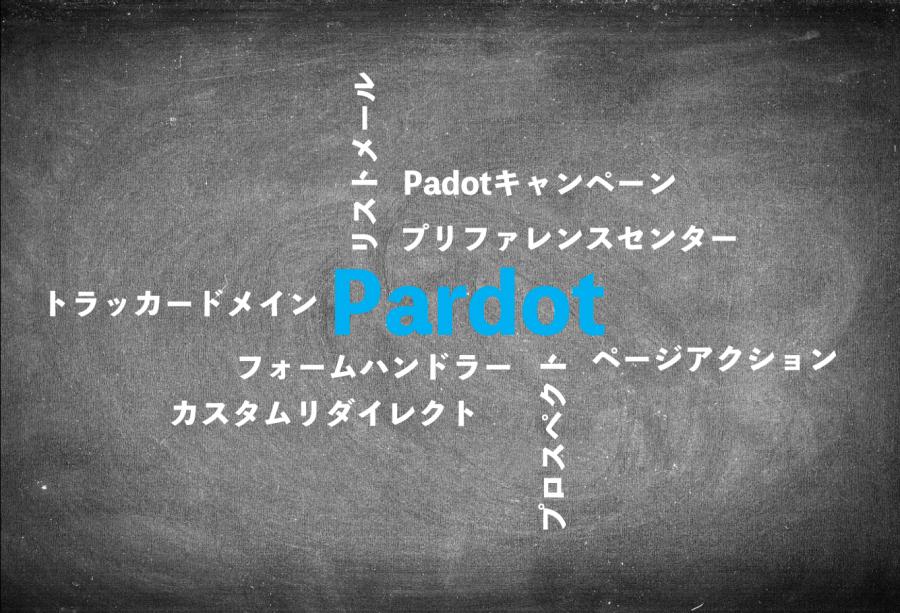 Pardot独自のワード