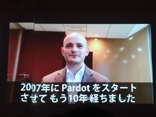 Pardot創業者のアダム・プリッツァー氏からのビデオメッセージ